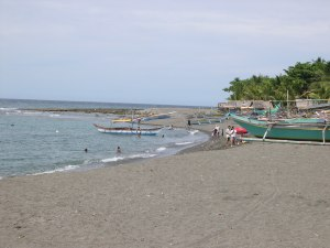 I don't mind the heat if I were on a beach like this (Taringting, Antique province)